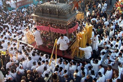 Bild vom Fercolo Argenteo Fest Sankt Agatha, Catania