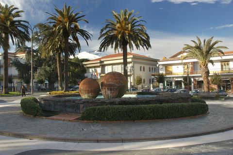 Bild der Piazza Marconi in Trecastagni, Sizilien