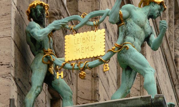 Krümelmonster klaut goldenen Leibniz Keks